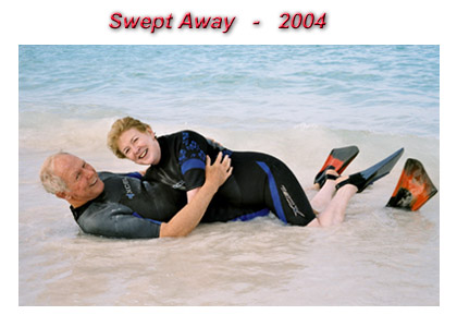 Swept Away, Christmas Card, 2004